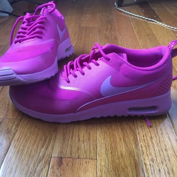 Nike Shoes   Fuchsia Pink Thea Air Max